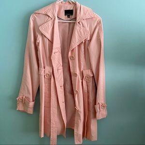 Cynthia Rowley Pink Trench Coat